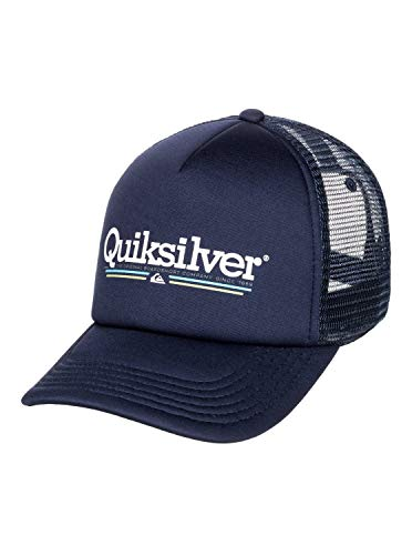 Quiksilver - Gorra Trucker - Hombre - One Size - Azul
