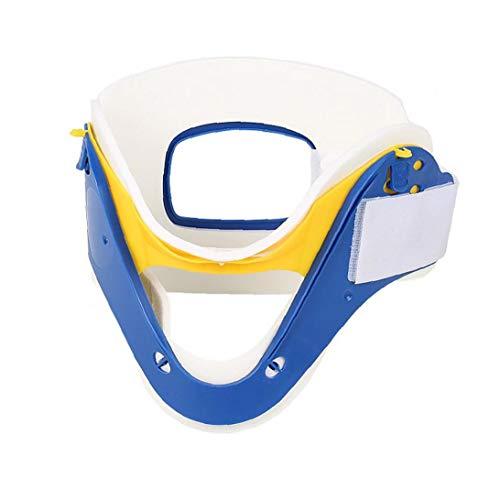 Cuello apoyo de la ayuda Head Neck Camilla Ortesis apoyos de la ayuda del cuello para el dolor de cuello ajustable de protección contra la vértebra cervical para Adultos Niños cosmética piezas