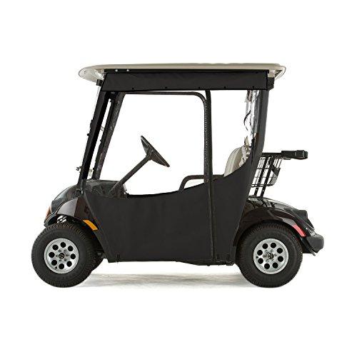 Yamaha Drive 2 Golf Cart PRO-TOURING Sunbrella Track Enclosure - Black-BLK