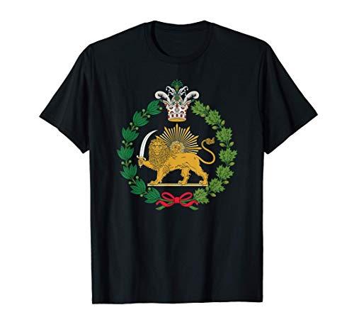 Shir-o-Khorshid Löwe und Sonne Persisches iranisches Symbol T-Shirt