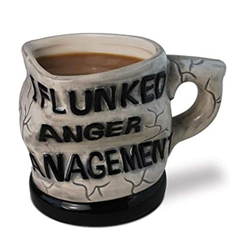 I Flunked Anger Management Mug Twisted Coffee Cup Personalized...