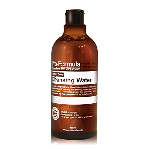 ProFormula Perfect Online limited product Deep Cleansing Water Moisturizes Credence Smooth 500ml