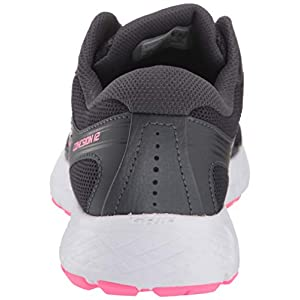 Saucony Women's VERSAFOAM Cohesion 12 Road Running Shoe, Black/Pink, 7.5 M US