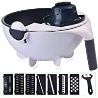 XinYuan 11 in 1 Salad Vegetable Onion Chopper with Drain Basket