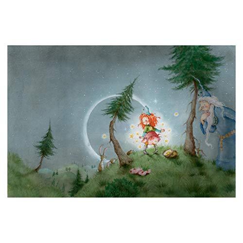 Fototapete selbstklebend - Frida lässt die Sterne frei - Wandbild 255 x 384 cm