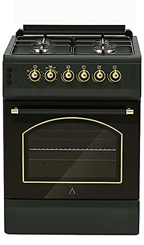 ALPHA Cocina de Gas Vulcano GOLD-50 Rustica. Encendido automático. **Alta Gama**