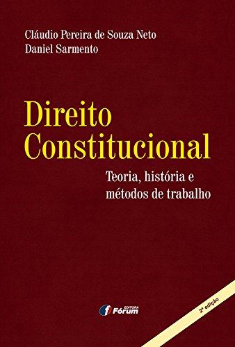 Direito constitucional: teoria, história e métodos de trabalho