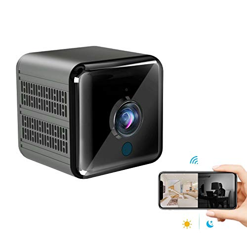 Spy Camera Super Night Vision KINGDANS Hidden Camera 1080P- Mini Camera,Nanny cams Wireless with Cell Phone app, Motion Detection,Video Share,Mini Security Camera for Indoor/Home/Office/Warehouse