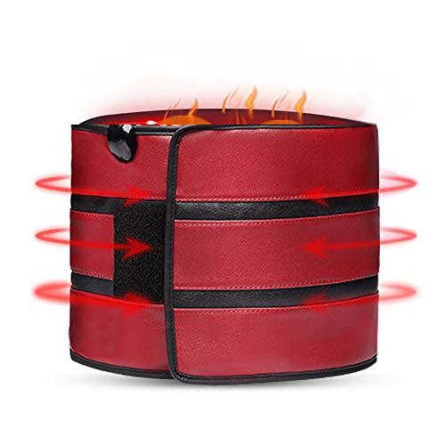 ZFF Infrarrojo Lejano Soporte Lumbar Cinturón Inferior Atrás Apoyo Masaje Control Remoto...