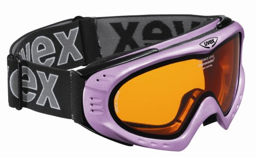 Uvex Skibrille F2 pink metallic