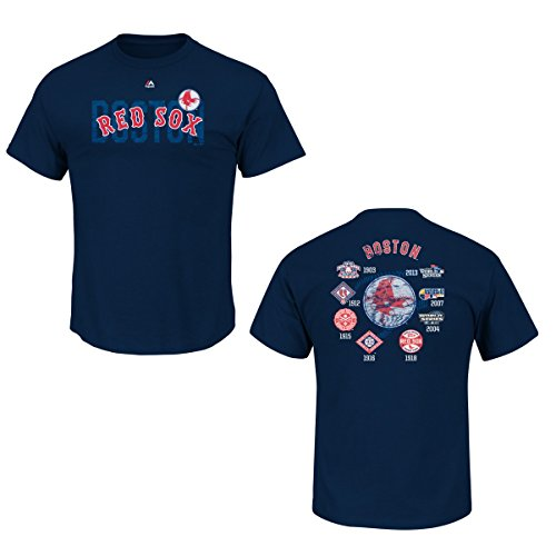 MLB T-Shirt Boston Red Sox Cooperstown Last Rally Tee Baseball (L)