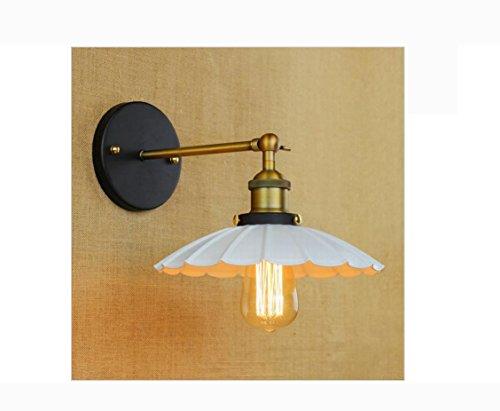 AllureFeng nouveau design antique swing arm mur lampe pour bougeoir d'éclairage de chevet chambre atelier