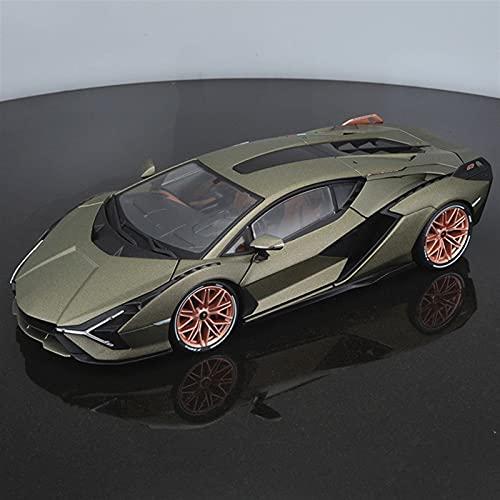 JKSM Coche Modelocinc 1:18 para Lamborghini para Sian FKP37 Aleación Retro Modelo De Coche Clásico Modelo De Coche Decoración Colección Niños Regalo