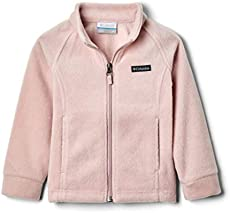 Columbia Baby Girls Benton Springs Fleece Jacket, Mineral Pink, 12-18 Months