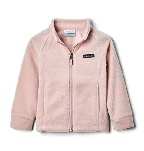 Columbia Girls' Big Benton Springs Fleece Jacket, Mineral Pink, Large