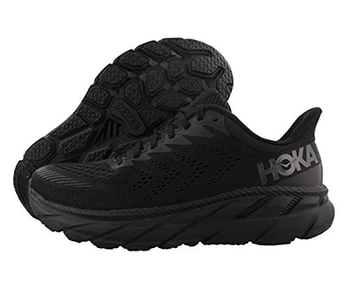 HOKA Clifton 7 Chaussures de course pour homme - Noir - Noir