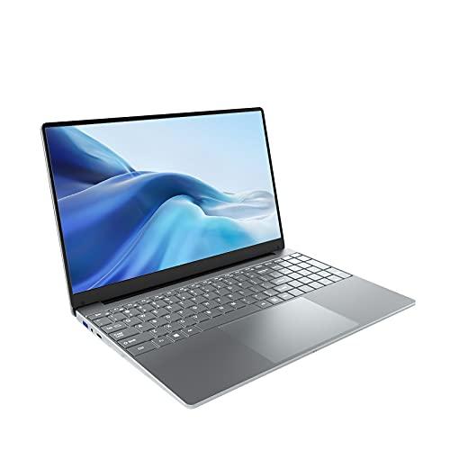 KUU Ordenador Portátil 15.6  , 8GB RAM 256GB SSD, Inter Celeron J4125 up to 2.7GHz Notebook, Monitor de PC portátil FHD, Windows 10 Ultrabook USB 3.0 y Bluetooth 4.0