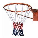 Jklj Juguete de Baloncesto para niños Anillo del Baloncesto Tricolor Neta Neta Marco de Baloncesto Partido Norma Neta Tablero de Baloncesto de Juguete Interior y Exteri