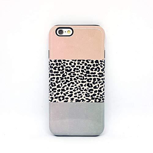 Leopardata Leopard cover case custodia per iPhone 5, 5s, SE 2016, 6, 6s, 7, 7 plus, 8, 8 plus, X, XS, 11, per Galaxy S6, S7, S8