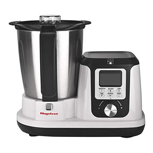 M MAGEFESA 02RO4540000 MAGEFESA 02RO4540000-Robot de Cocina Modelo MAGCHEF White Plus MGF4540, Multicolor