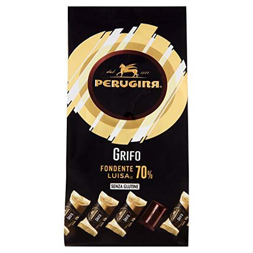 Perugina Grifo Fondente Cioccolatini al Cioccolato Fondente 70% sacchetto, 200 g