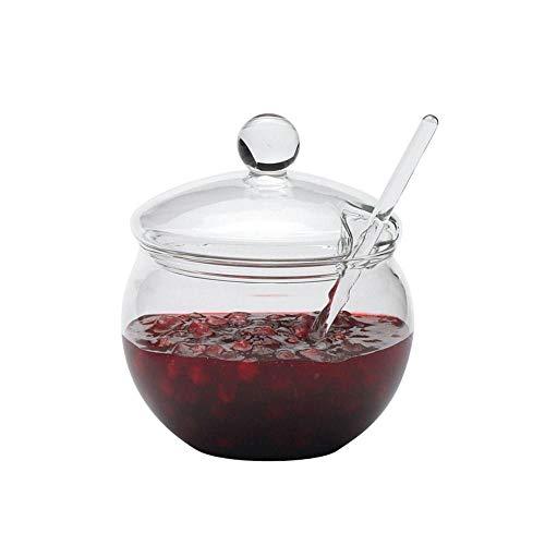Trendglas Jena Marmeladendose mit Löffel, 0.25 L