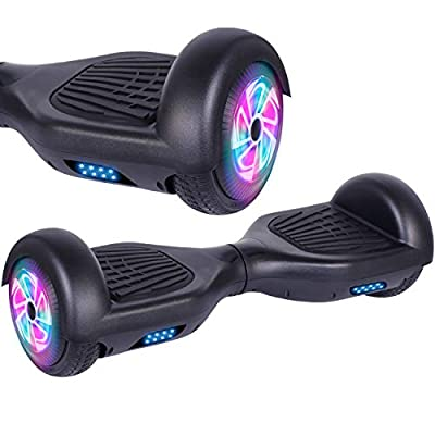 "Hoverboard 6.5"", Hoverboard for Kids 2 Wheels Self Balancing Scooter Smart Segway With Powerful Motor and LED Lighting wheels, for Kids"