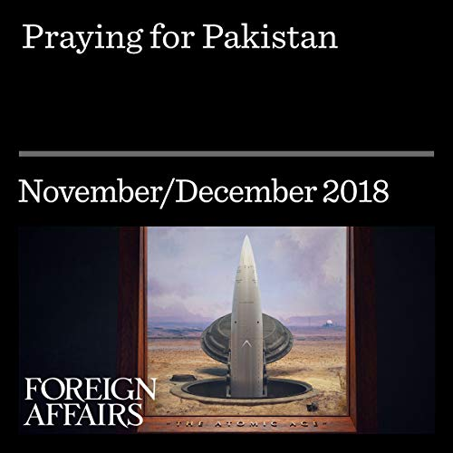 Praying for Pakistan audiobook cover art