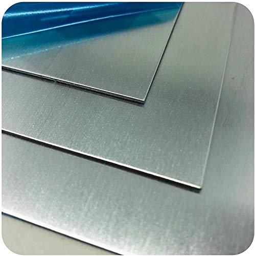 Hoja de Aluminio Wzwwjs Soldadura fácil, 200mmx200mm, Espesor: 2 mm, 3 mm, 4 mm,3mm