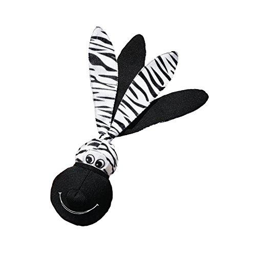KONG - Wubba Floppy Ears - Juguete Interactivo sonoro Perros de Raza Grande ⭐