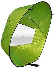 Eenvoudig draagbaar, 42 inch downwind padddle Instant-popup kayak Sail, kayak wind Sail, kayak accessoire.