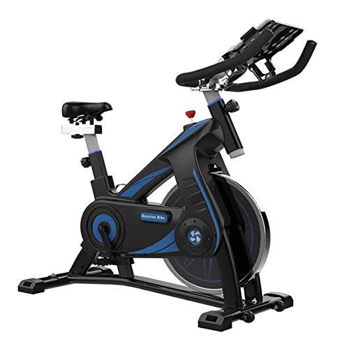 Con cubierta de bicicleta de ejercicios multifuncional Ipad stand y confortable Almohada, Reconstrucción y aptitud relacionados, ultra silencioso Vuelta de la bici estacionaria resistencia infinita