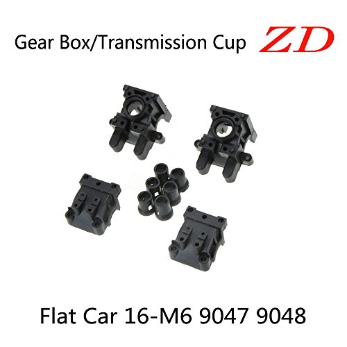 ZD Front Rear Gear Box/Transmission Connected Cup 6611 forZD 1/16 RC Flat Car 9047 9048