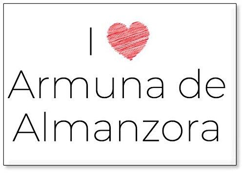 Mundus Souvenirs - Amo Armuna de Almanzora, Imán para Nevera (diseño 3)