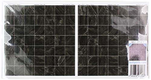 Muurgenie Tegel Stickers x30 Pack, Zelfklevend vinyl, 150mm x 150mm, MS2 7