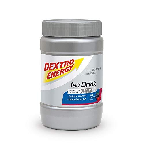 Dextro Energy Isotonisches Sportgetränk Pulver,Red Berry,440g