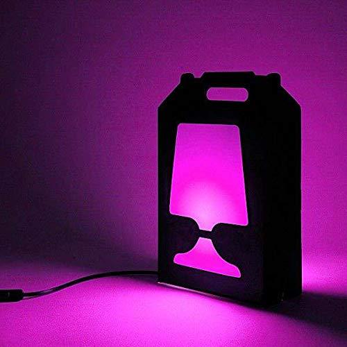 FLAMP - lampe à poser et à transporter - une référence en matière de lampes déco et design - Rose