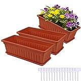 Homestar 3 Packs terracotta planters