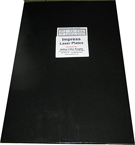 "Impress Polyester Laser Offset Printing Plates 12"" x 19-7/8"" - 100 Pack - All Sizes Available"