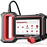 THINKSCAN OBD2 Scanner Check Engine Code Readers & Scan Tools Plus S4 Auto Diagnostic Car Scanner with ABS SRS Body Control Engine Transmission System Diagnoses and DIY 3 Reset OBD2 Car Scanner