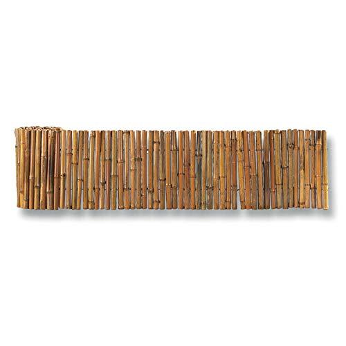Bordure bambou souple