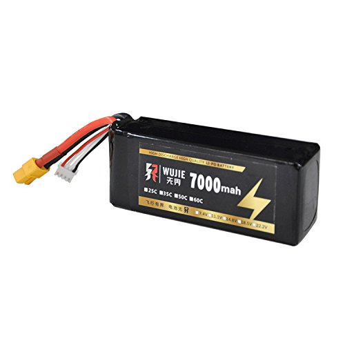 Replace 11.1V 7000mAh 25C Rechargeable Lipo Battery for Hubsan X4 Pro H109S RC Quadcopter Spare Parts