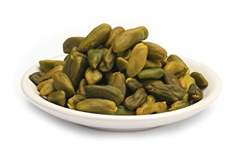 Pistachos verdes sicilianos ecológicos, semillas de pistacho peladas y sin piel 200 g BIO crudas crudas sin tostar y sin sal con melatonina natural