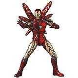 MAFEX マフェックス No.136 IRON MAN MARK85 Endgame Ver. アイアンマン マーク85 エンドゲーム バージョン 全高約160mm 塗装済み アクションフィギュア