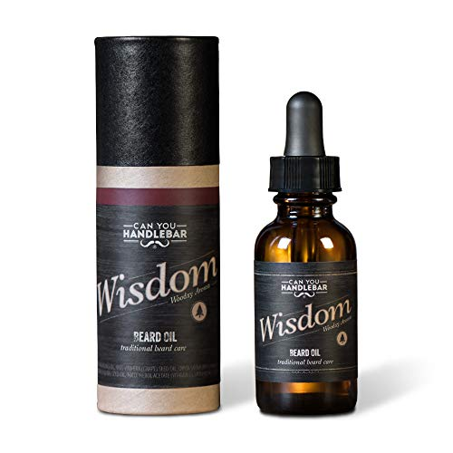 Wood Scent Premium Beard Oil for Men - Wisdom (Woodsy &...