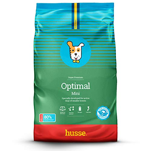 Husse - Optimal Mini 7 Kg | Pienso para Perros | Función Gastrointestinal | Sabor Pollo Ingredientes