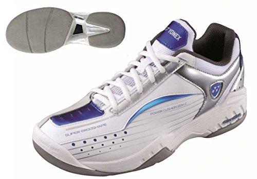 YONEX SHT-204C White/Blue - Zapatillas de Tenis Calzado...