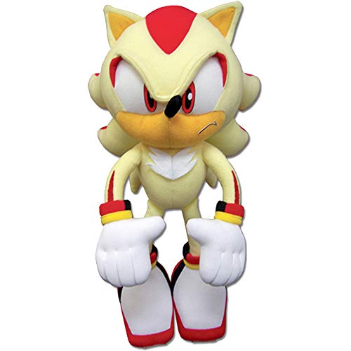 """Sonic The Hedgehog Great Eastern GE-52631 Super Shadow Plush, 12"""", Multicolor, (Model: New_52631)"""