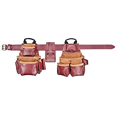 CLC Custom Leathercraft 21453 Signature Elite Heavy Duty Leather Combo System, 18 Pocket from Custom Leathercraft