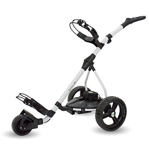 Powerbug GT Tour Lithium Electric Golf Trolley - White